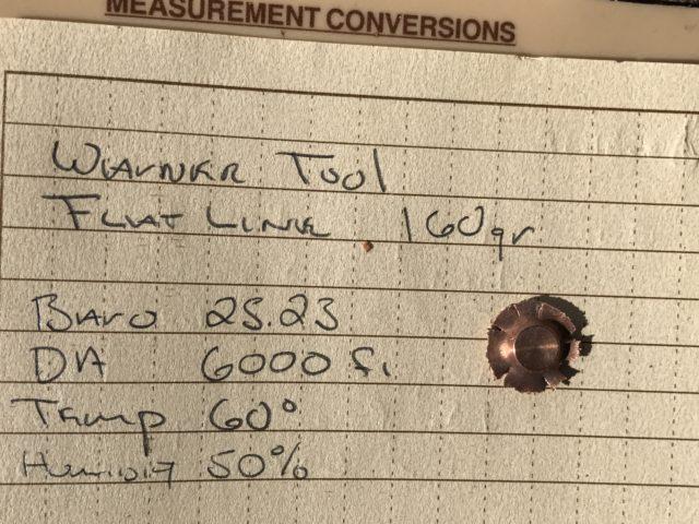 Warner Tool 160s