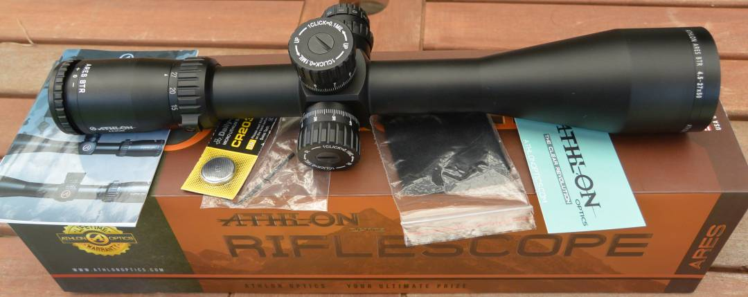 Athlon Ares BTR 4.5-27x50mm unboxing