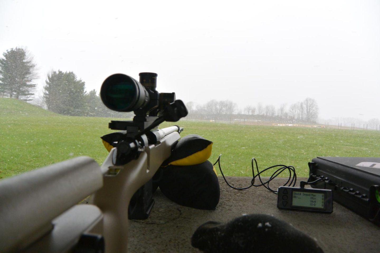 Sightron SIIISS624x50LRFFP/MH in Bobro dual lever mount on Kelbly Atlas rifle