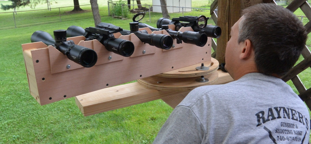 Comparative optical testing of this years sub $1k precision rifle scopes behind the adjustable v-block