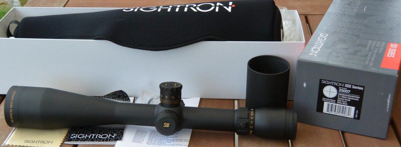 Sightron SIIISS624x50LRFFP/MH Unboxing