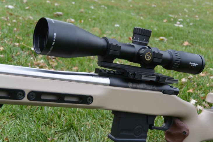 Athlon Midas TAC 6-24x50mm on Kelbly Atlas Tactical