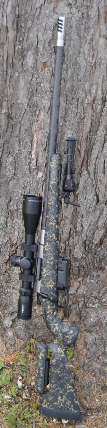 Athlon Midas TAC 6-24x50mm in on a Mesa Precision Arms Crux Rifle