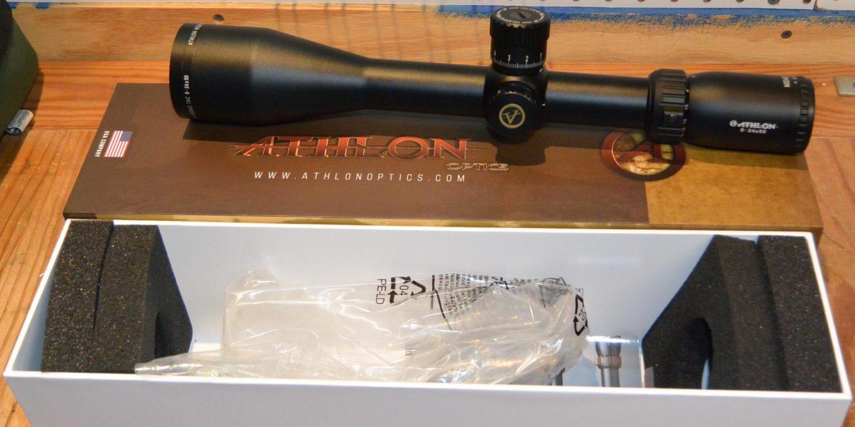 Athlon Midas TAC 6-24x50mm unboxing