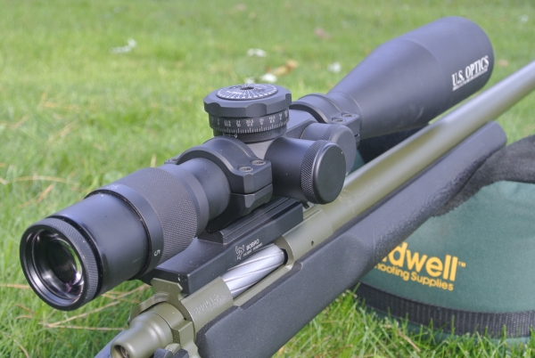 USO ER-25 in Bobro 34mm Cantilevered Precision Optic Mount