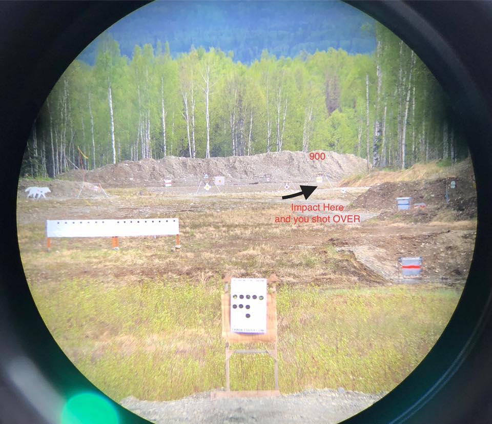 900 Yard Target