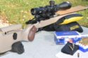 Kelbly Atlas Tactical rifle with Harrell's tuner brake and Lapua ammo during testing.