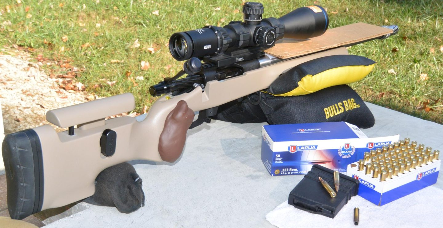 Meopta Optika6 5-30x56 RD FFP on Kelbly's Atlas Tactical rifle