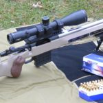 Athlon Midas TAC 5-25x56mm on the Kelbly Atlas and the Lapua .223 ammo it likes best.
