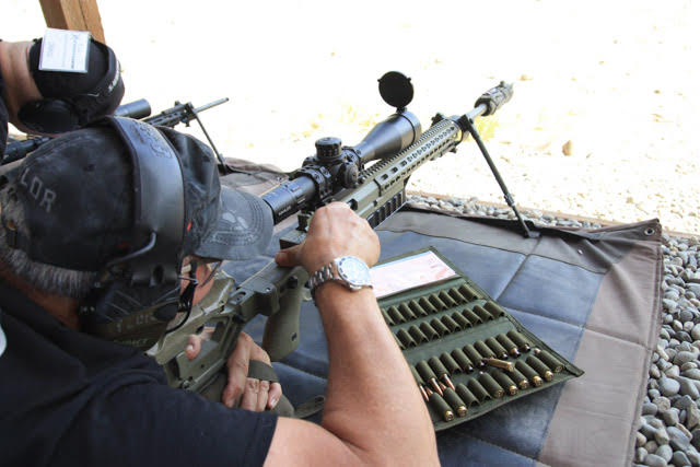Supporting the Rifle
