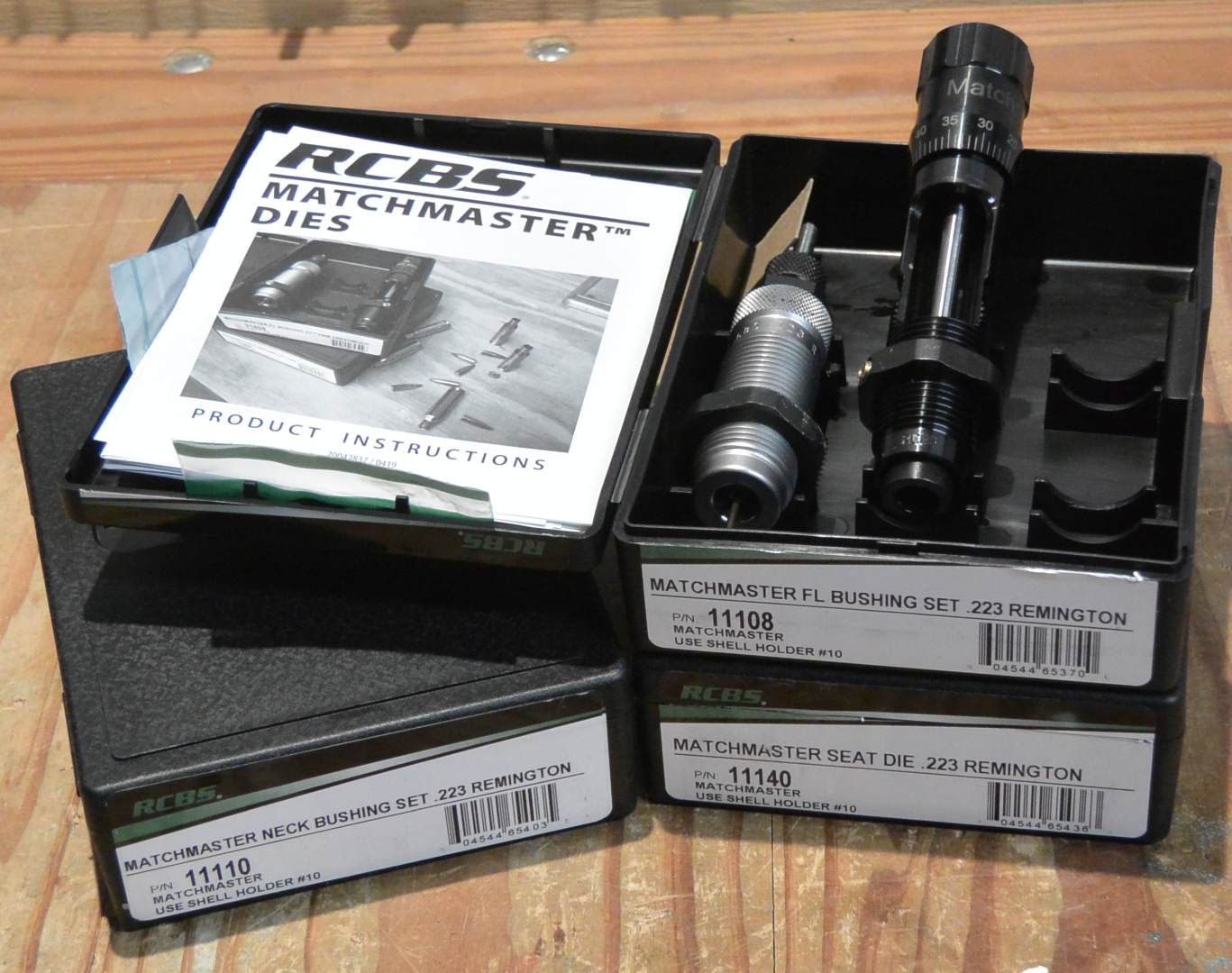 MatchMaster Competition reloading dies unboxing