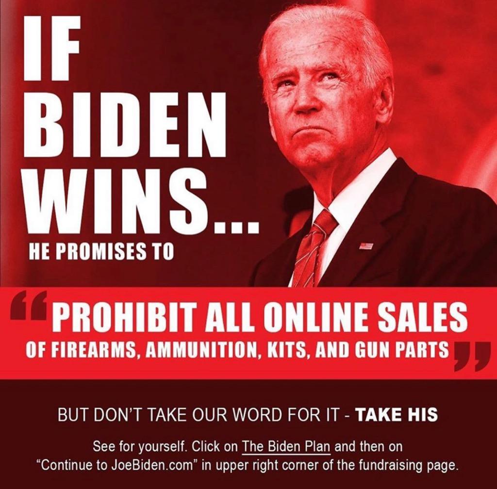 Biden Attacks Our Gun Rights