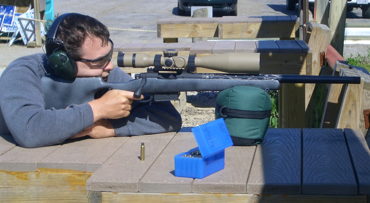 Shooting that Earlier Generation Proof Barreled Rifle back in 2010