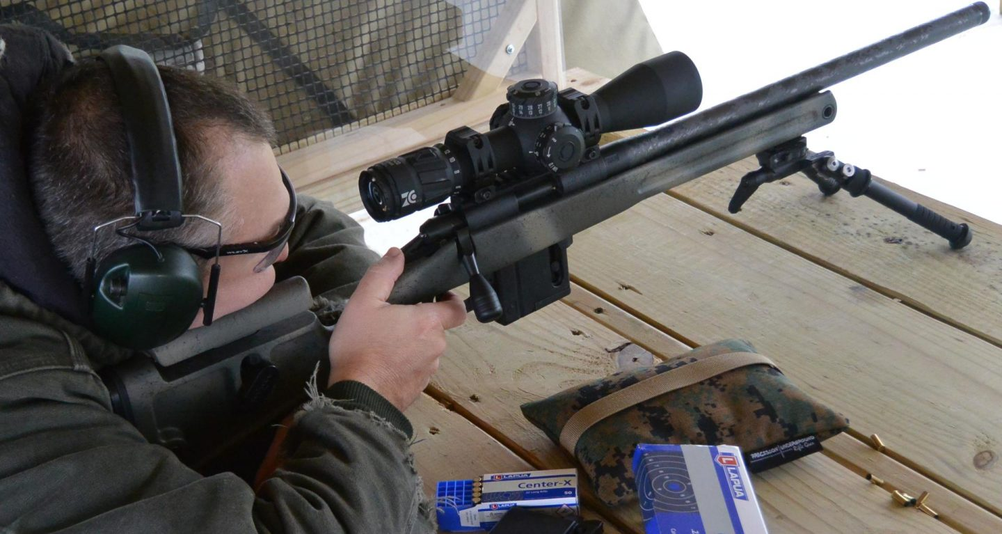 Shooting the Vudoo V-22 with Proof Carbon Barrel, Atlas CAL Bipod and Zero Compromise ZC420 at the newly re-opened Delaware Wildlife Area Shooting Range