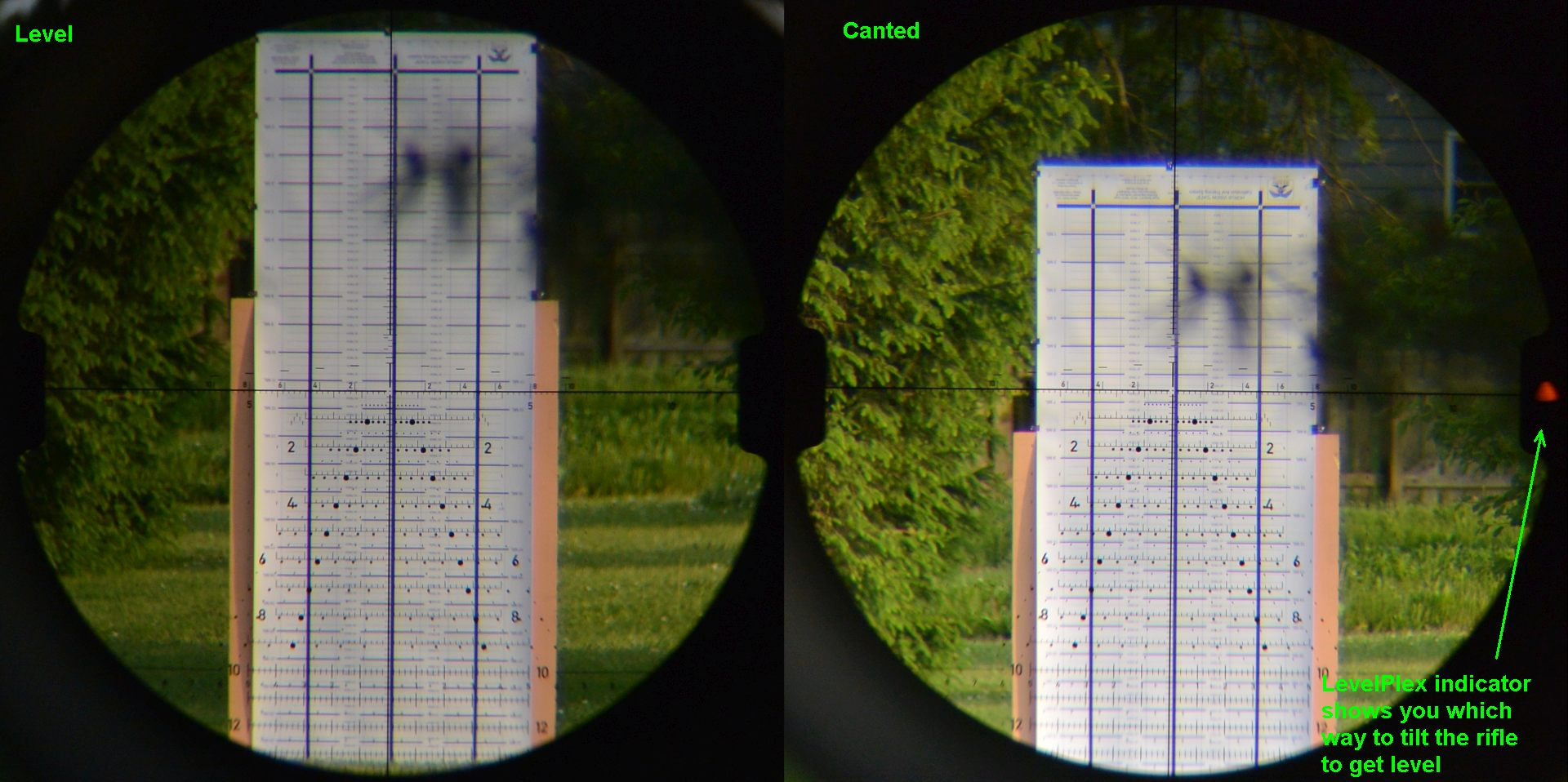 Sig's LevelPlex Anti-Cant System in the Tango6 5-30x56 rifle scope