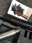 SOLD  TS Custom 6BRA Impact Prefit barrel, dies, brass