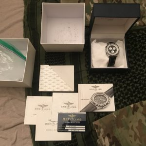 A Breitling Jupiter Pilot Watch - $1300