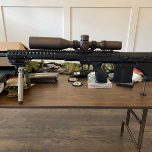New rifle for the 2021 season