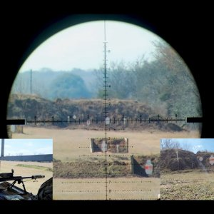 Suppressed Barrett MRAD 338 Lapua Magnum-1000 Yard Practical Precision - POV and Target Cam